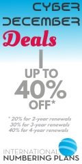 Cyber December Deals - up to 40% renewal discounts!